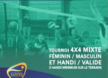 Challenge de France de Volley Assis à Nantes le 26 Novembre