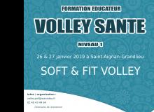 Formation Educateur «Volley Santé» Samedi 26 & Dimanche 27 janvier !