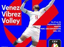 J-100 EuroVolley 2019, Atlan'Team Tour, Casquettes et Crampons…