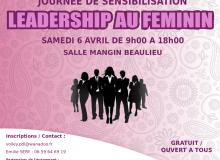 Journée de sensibilisation du leadership au féminin