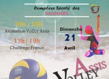 Challenge Volley Assis le 21 Avril aux Sables d'Olonne !