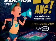 Evénement : Les 20 ans de Premiers de Cordée, le 3 Avril 2019 au Mans !