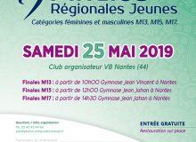 Informations finales jeunes du samedi 25 mai