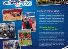 La Ligue de Volley-Ball des Pays de la Loire vous souhaite une année 2021… tout en volley !