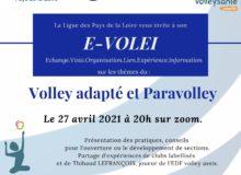 Visioconférence Sport Pour Tous ! Des conseils pour les activités paravolley et Volley adapté