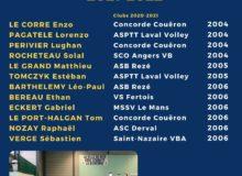 Nouvelle promotion Section Excellence Sportive Volley régionale de Rezé
